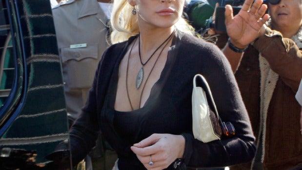 Lindsay en su última audiencia