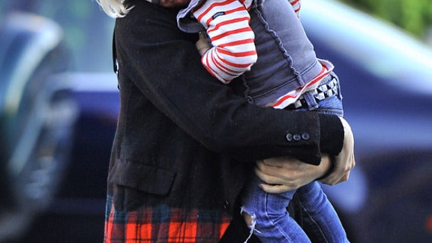 Gwen Stefani con Zuma Rossdale