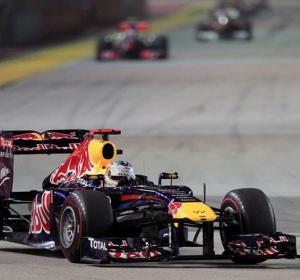 Vettel, en Singapur