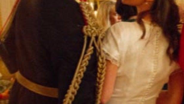 Recreación de Harry tocando el 'cucu' de Pippa