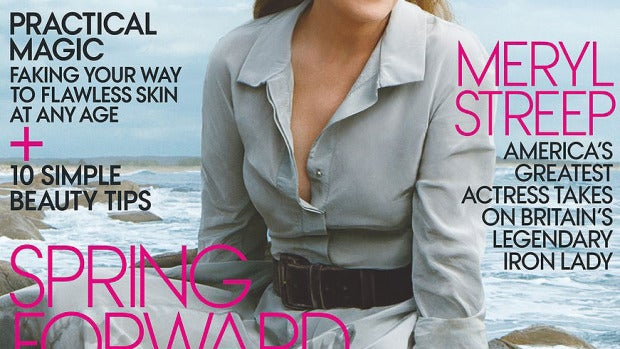 Meryl Streep, portada del Vogue de enero