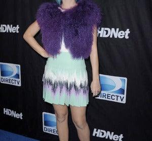 Katy, vestida de Versus