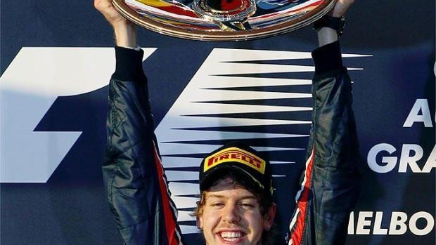 Vettel, campeón del GP de Australia 2011