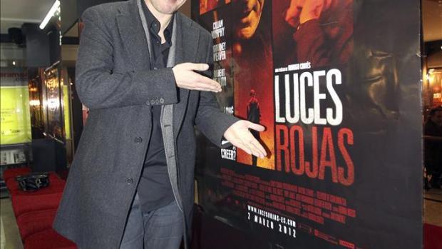 Rodrigo Cortés en la presentación de 'Luces Rojas'