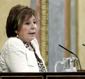 La vicepresidenta del Congreso, Celia Villalobos