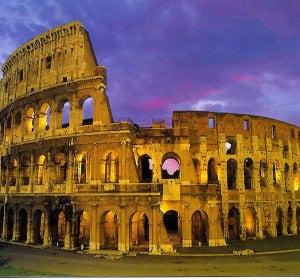 El Coliseo romano