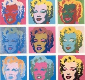 Marilyn Monroe según Andy Warhol