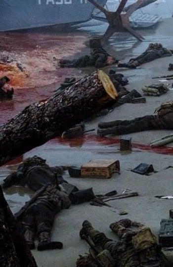 Un auténtico baño de sangre en 'Salvar al Soldado Ryan'