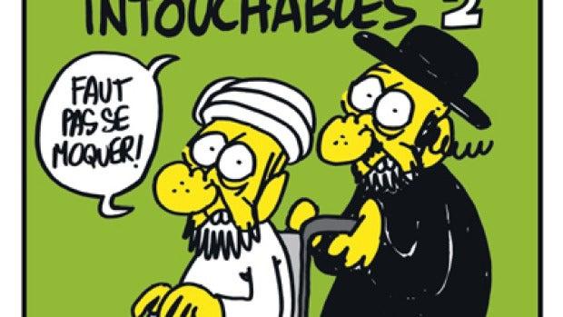 La revista francesa caricaturiza a Mahoma de nuevo