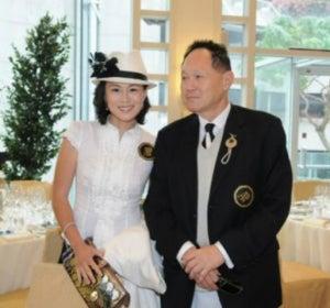 Cecil Chao con su hija Gigii