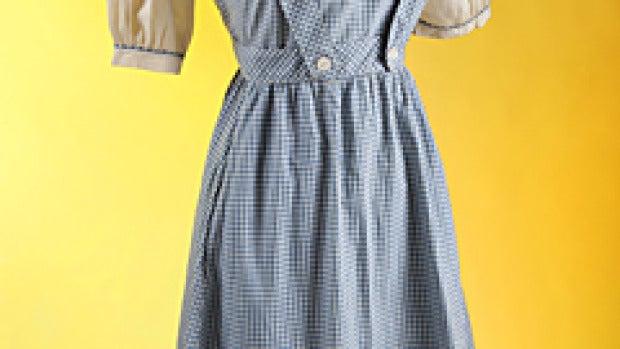 Se subasta el vestido de 'El Mago de Oz'