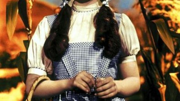 A subasta el vestido de Judy Garland en El Mago de Oz