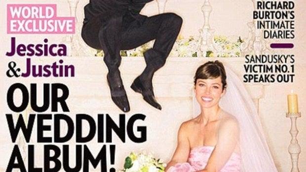 Justin Timberlake y Jessica Biel ya casados