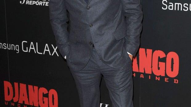 Leonardo DiCaprio en la premier de la película 'DJango'
