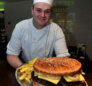 El autor de la hamburguesa Ogre