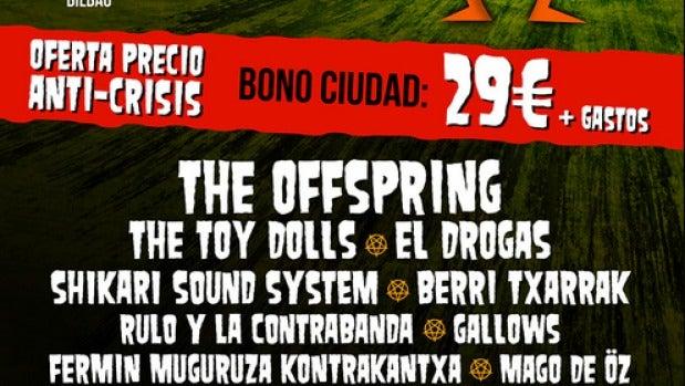 Cartel del En Vivo Festival 2013