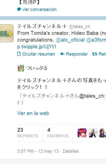 Hideo Baba felicita a Alonso en Twitter