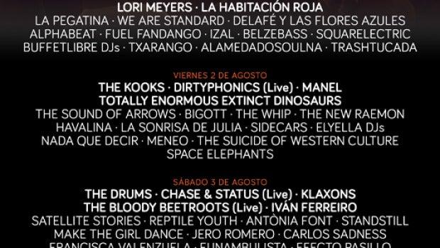 Cartel del 'Arenal Sound' 2013