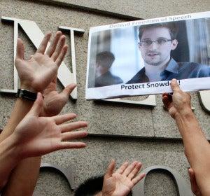 Apoyo de la calle a Snowden