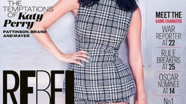 Katy Perry portada del mes de septiembre de ELLE