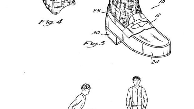 Patente botas anti-gravedad