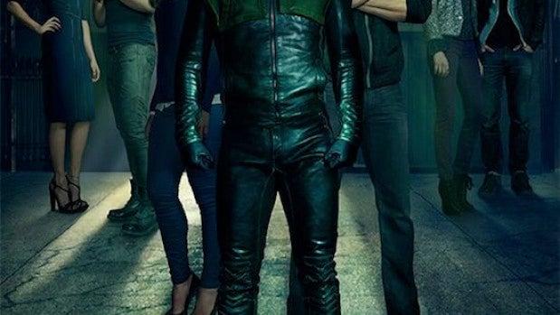 Póster segunda temporada de 'Arrow'