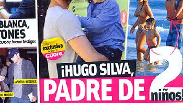 Cuore desvela que Hugo Silva es padre de mellizos