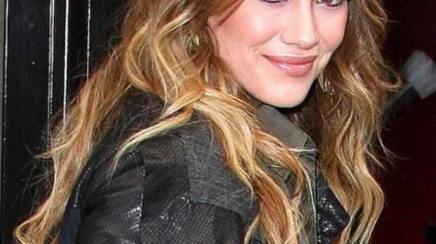 Hilary Duff con mechas californianas