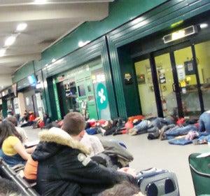 Aeropuerto de Bérgamo, el peor para pasar la noche.