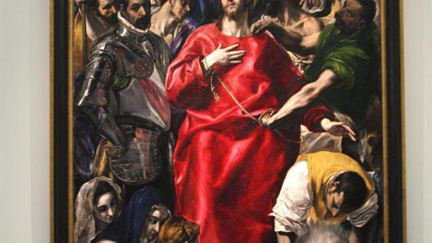 'El Expolio' de El Greco, temporalmente en el Museo del Prado