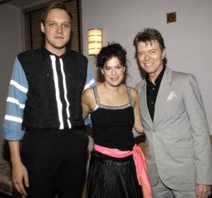 Arcade Fire y David Bowie