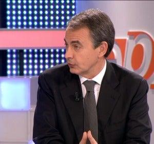 Entrevista a Zapatero en Espejo Público 1
