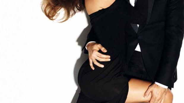 Malena Costa y Mario Suárez juntos en Vogue