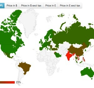 Precio del iPhone según salarios