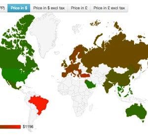 Precio del iPhone en todo el mundo