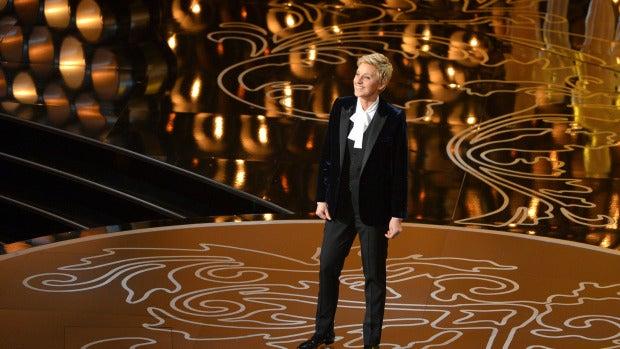 Ellen DeGeneres ejerció como maestra de ceremonias en su segundo año consecutivo