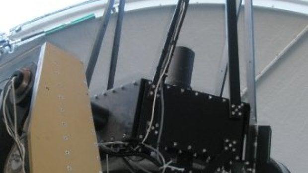 Telescopio robótico del Centro de Astrobiología (CSIC-INTA) en el Centro Astronómico Hispano Alemán de Calar Alto (Almería)