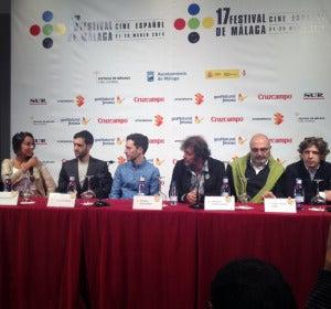 Presentación de 'Purgatorio' en el Festival de Cine de Málaga 2014