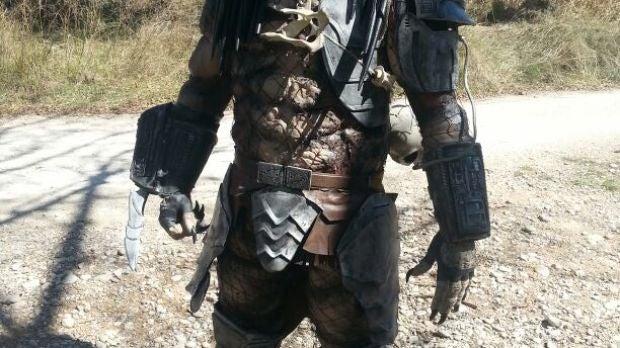 Persona caracterizada de Predator