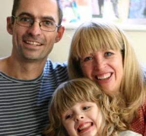 Chloe y su familia