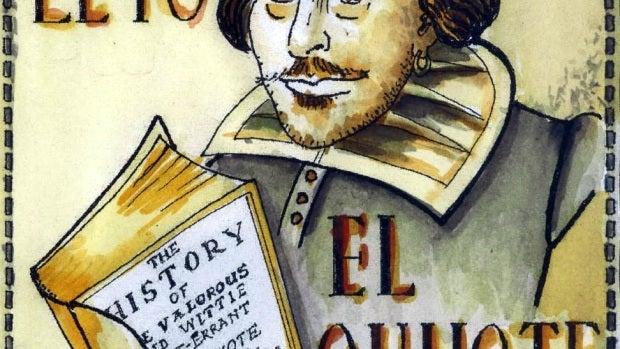 '...y Shakespeare leyó El Quijote'