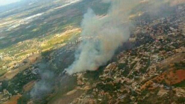Incendio en Torrent