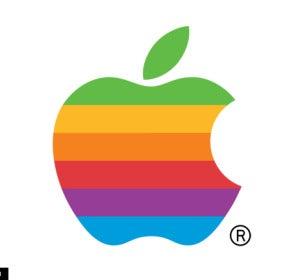 Logo multicolor de Apple