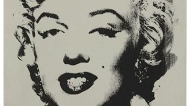 Retrato 'White Marilyn'