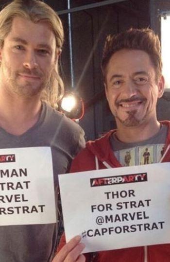 'Los Vengadores' cumplen el último deseo de un fan enfermo de cancer