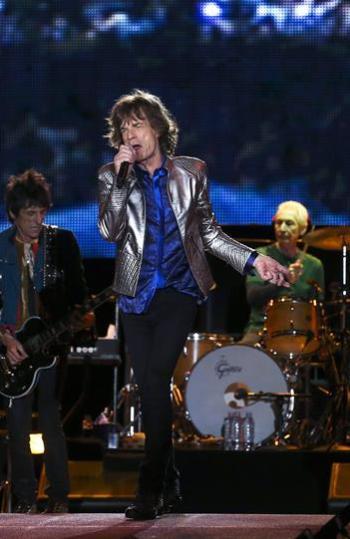 La banda The Rolling Stones