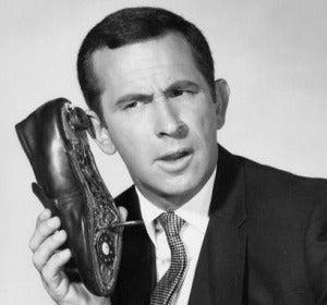 El zapatófono del Superagente 86