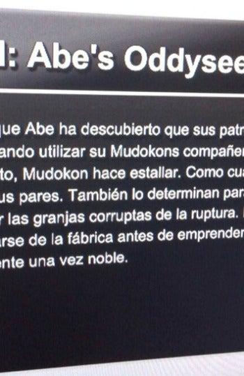 Oddworld: Abe's Oddysee fallo