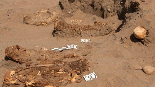 Restos de momias