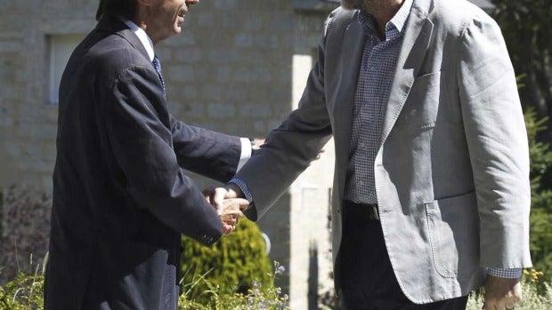 Aznar recibe a Rajoy